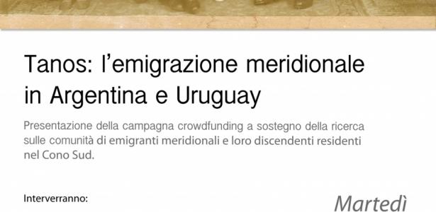 L'emigrazione meridionale in Argentina e Uruguay