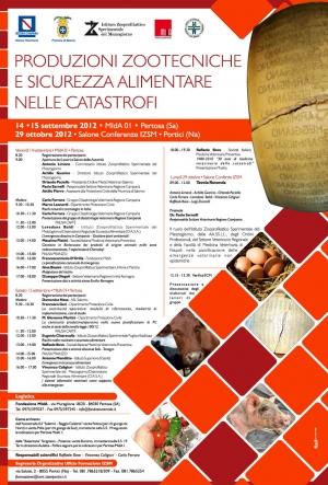 Due convegni su sanità pubblica veterinaria e medicina delle catastrofi