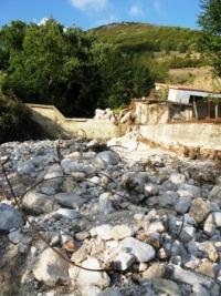 L'esondazione di Teglia. Una riflessione sulle case del terremoto