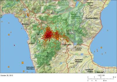 Il terremoto del Pollino del 26 ottobre