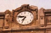 l'orologio del palazzo del Governo
